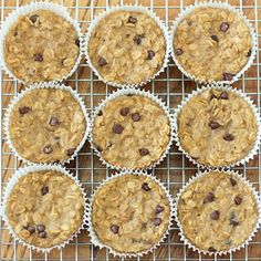 Baked Oatmeal Cupcakes To Go