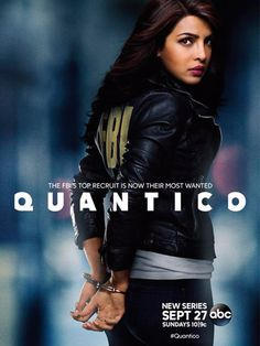 Quantico (ABC-September 27, 2015) Season One, an American thriller TV series created and executive produced by Joshua Safran with Mark Gordon. It revolves around a group of young FBI recruits, training at the FBI Training Academy in Quantico, Virginia. Stars: Aunjanue Ellis, Josh Hopkins, Priyanka Chopra, Jake McLaughlin, Tate Ellington, Graham Rogers, Johanna Braddy and Yasmine Al Masri co-star as FBI recruits.