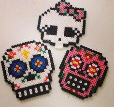 Skull fuse beads