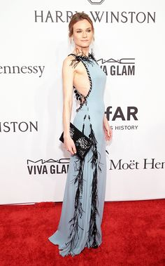 Inside amfAR's New York Gala: The 12 Best Dressed of the Night - Diane Kruger  - from InStyle.com