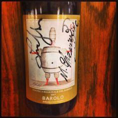 Barolo 2007 to Luca Gardini label by M. Tchemiakin