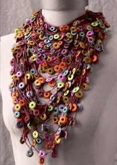 necklace crochet - Pesquisa Google