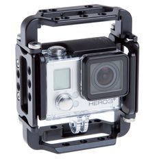 Really Right Stuff and the RRS GoPro Cage System. Could stand to make the range of GoPro shooting even more broad than it already is!