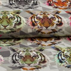 Kiko Tricot Digital Graphic Tiger 7501-991