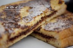 Nutella, French Toast, Bread, Breakfast, Food, Food Food, Rezepte, Breakfast Cafe, Essen