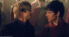 Arthur is so satisfied with himself and Merlin is just like, I will put itching powder in your armor