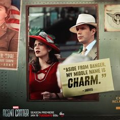"""S2 Ep1 """"The Lady in the Lake"""" - Edwin Charm Jarvis. #AgentCarter"""