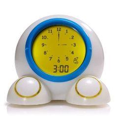 #8: American Innovative Teach Me Time Talking Alarm Clock and Nightlight