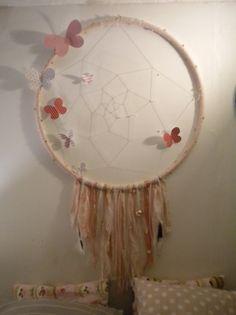 DIY Attrape-rêves http://sixthematique.fr/diy-attrape-reve-geant/