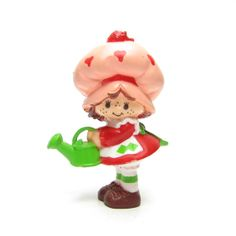 Strawberry Shortcake Watering Can Figurine