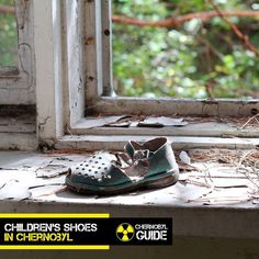 Childrens shoes in Pripyat Chernobyl.  To konw more visit our information site about the  Chernobyl Disaster and Ghost-Town  Pripyat  http://ift.tt/2waAZah  If you want to visit  Chernobyl (link in profile)  http://ift.tt/2feMAhN  #pripyat #prypiat #pripyattour #callofpripyat #stalkercallofpripyat #pripyatukraine #pripyatthenandnow #pripyatriver #tourist #tourism #abandoned #abandonedplaces #chornobyl #czarnobyl #chernobylguidetour