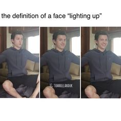 (frames Peter seeing Annabeth in her prom dress) (frame Peter laughing because Annabeth scolded him for not be ing ready for prom) Funny Marvel Memes, Marvel Jokes, Dc Memes, Funny Memes, Tumblr Book, Marvel Dc, Funny Videos, Tom Holland Peter Parker, Tommy Boy