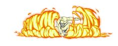 Firebending Explosion by moptop4000.deviantart.com on @deviantART