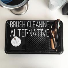 New Brush Cleaning Alternative