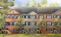 Styled after the charming look of a brownstone, these homes offer 3-levels of living in either a 3-bedroom or 4-bedroom layout. 2,104 Square Feet  4 Bedrooms 3.5 Bathrooms 1 Half Bathroom 2 Car Garage  2 Stories