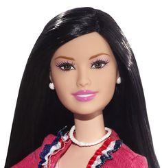 Barbie I Can Be… President B Party Doll (Asian) Head Shot