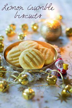 {Bredele 2014} Lemon crumble biscuits