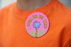 DIY Dr. Seuss' The Lorax Propaganda Button