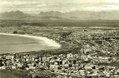 City view.    early 1930's | by Etiennedup Old Photos, Vintage Photos, Historical Pictures, African History, Cape Town, South Africa, Trip Advisor, City Photo, Surfing