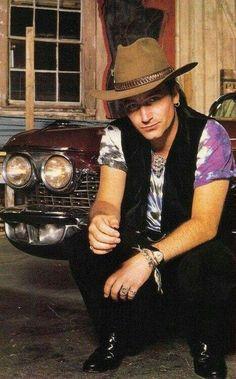 U2 back in those crazy cowboy days.
