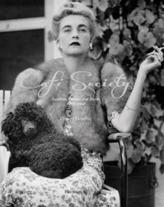 Photography © Hulton-Deutsch Collection  Barbara Hutton w/her miniature poodle in 1947.