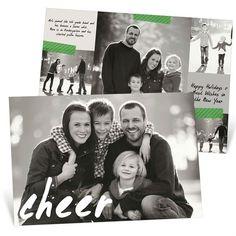 Handwritten Cheer Horizontal -- Christmas Cards
