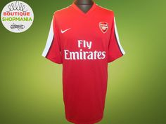 5425c6ffa8f ARSENAL HOME 2008-2010 (3XL) NIKE FOOTBALL SHIRT Jersey Maglia Camisa #NIKE  #ARSENAL