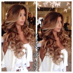 Super cute! Love the big hair and curls! Definitely to die for!