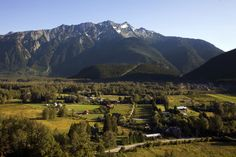This pretty much says it all. The Pemberton Valley with Mt Currie. You simply gotta get here!