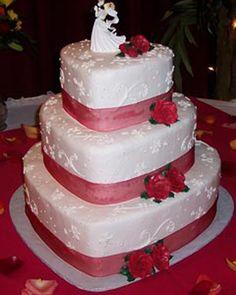 wedding cake ideal:sweetheart wedding cake topper