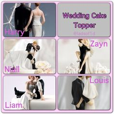 Cute! I do have to say this, my favorite one is Niall's, good thing i'm gonna marry him so we can have that topper! ;)