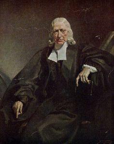 """HISTÓRIA: John Wesley, (1703-1791) foi um clérigo e teólogo cristão britânico, líder precursor do movimento metodista. Foi um dos maiores avivalistas da Grã-Bretanha. SEU PENSAMENTO: """"Senhor, não me deixes viver até chegar a ser inútil"""". (John Wesley)."""