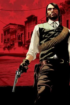 Marketing illustrations for the video game, Red Dead Redemption All images copyright Rockstar Games Video Game Posters, Video Game Art, Texas, Red Dead Redemption Game, Red Bangs, Holy Diver, John Marston, Read Dead, Rdr 2