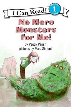 I Can Read Book 1: No More Monsters for Me!    By Peggy Parish / Available at www.BookLodge.com - Lowest Priced English and Chinese Online Bookstore for Children and Parents Worldwide