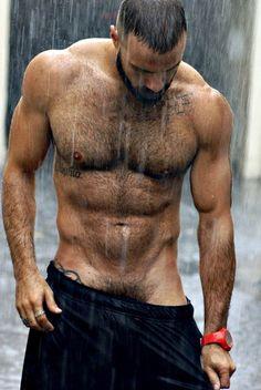 hairy nice men