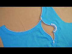 Very Creative Neck Design (Boat Neck) Cutting And Stitching – dressideas Blouse Back Neck Designs, Churidhar Neck Designs, Salwar Neck Designs, Kurta Neck Design, Neck Designs For Suits, Neckline Designs, Fancy Blouse Designs, Designs For Dresses, Sleeve Designs