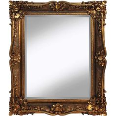 Gold French Style Traditional Mirror