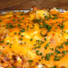 Cheesy Potato Casserole Recipe by Tasty