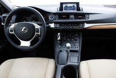lexus ct200h 2013 interior