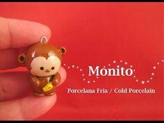 Monito en Porcelana Fria - Cold Porcelain - YouTube