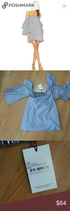 """Faithfull the Brand phi phi dress in navy stripes Brand new excellent condition! Length: 25"""" Faithfull the Brand Dresses Mini"""