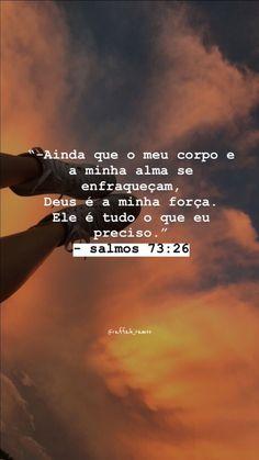 Jesus Is Life, My Jesus, Jesus Christ, Story Instagram, Instagram Blog, Bible Quotes, Bible Verses, Motivational Phrases, Jesus Freak