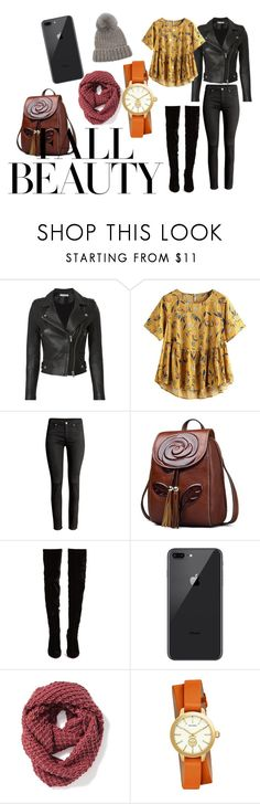 """""""Perfect Clothing Attire for FALL"""" by maelishaquinnjuanillo on Polyvore featuring beauty, IRO, Christian Louboutin, Old Navy, Tory Burch, Eugenia Kim and fallbeauty"""