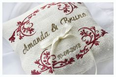 Items similar to Personalized Ring bearer pillow , Linen personalized ring pillow , wedding ring pillow, Custom embroidered ring bearer pillow on Etsy Personalized Rings, Personalized Wedding, Ring Pillows, Ring Pillow Wedding, Custom Embroidery, Ring Bearer, Something Blue, Wedding Rings, Number 7