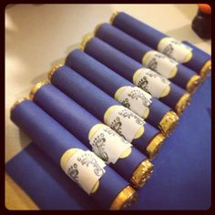 I gave away rolo cigars as favors :)