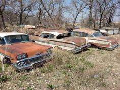 1958 Chevy Belair's..not  impala's but close enough