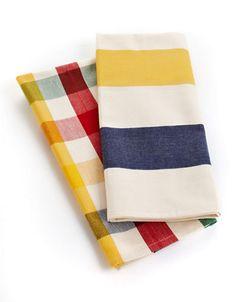 HBC Collections | Fall Cottage Essentials | Cotton Tea Towel - Set of 2 | Hudson's Bay $20