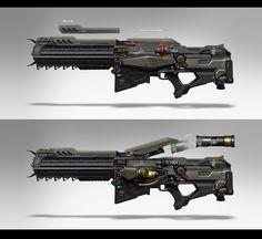 Gun concept, GINO STRATOLAT on ArtStation at https://www.artstation.com/artwork/gun-concept-772cbd0d-6008-44a2-ab7e-8beab0683b31
