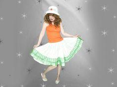Vintage Taffeta Petticoat Crinoline Skirt - 50s Full Skirt Slip by LunaJunctionVintage on Etsy