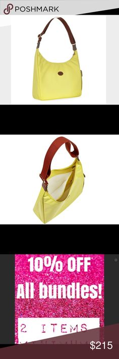 🌼NWT Longchamp Hobo Bag Le Pliage Yellow France🌻 🌼NWT Longchamp Hobo Bag Le Pliage Yellow France🌻🌻🌻🌻❤️THANKS FOR SHOPPING @SAFFORDHALL! WE LOVE GREAT OFFERS! SELLERS LOOK FOR 80-90% + OF LIST PRICE TO WIN YOUR BID!❤️BUNDLE TO SAVE!❤️NO TRADES NO LOWBALLS!❤️BULLYS, TROLLS AND HARASSERS ARE REPORTED AND BLOCKED❤️KEEP POSHMARK CLASSY!❤️SPREAD THE LOVE!❤️DO UNTO OTHERS AS YOU WOULD HAVE THEM DO UNTO YOU❤️STOP THINK ACT PROCEED❤️WE WORK HARD TO BRING YOU THE CUTEST STYLES AND…